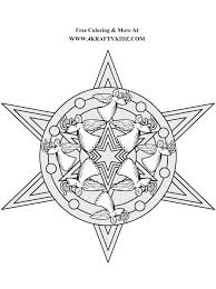 Small Picture Stars Coloring Template Coloring Coloring Pages
