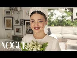 miranda kerr s fairy tale wedding dress ing vogue