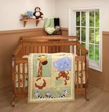 nojo safari kids crib bedding