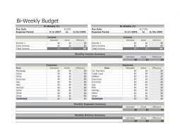 Bi Monthly Budget Spreadsheet Vaydileeuforicco 8037716505721
