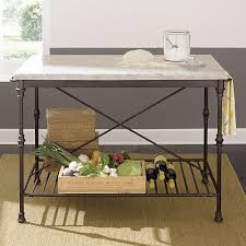 french kitchen island crate and barrel