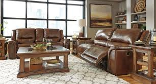 Leather Reclining Living Room Sets Jayron Leather Reclining Living Room Set Signature Design By