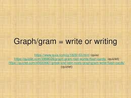 Charts And Graphs Quizlet Graph Gram Write Or Writing Ppt Download