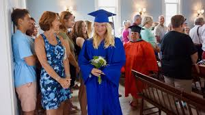 On A Tiny Island, Comedian Delivers A Graduation Speech For One : NPR