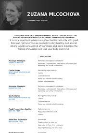 massage therapist resume samples new massage therapist resume examples