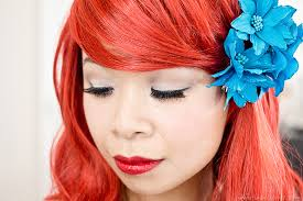 makeup ideas ariel makeup tutorial ariel makeup u0026 u201chairu201d tutorial