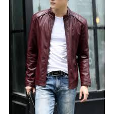 hugme fashion biker custom designer motorcycle genuine leather jacket for men jk93