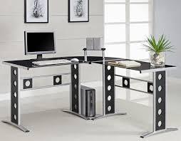 modern l shaped desk office ideas