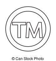 Tm Trademark Symbol Trade Mark Icon Symbol Tm Sign Trademark Vector Black Law