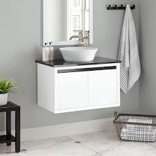 30 cottee wall mount vessel sink vanity bathroom