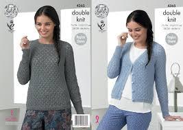 Jumper Pattern Impressive Raglan Sleeve Sweater Jumper Cardigan Ladies Knitting Pattern King