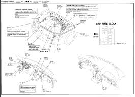 mazda distributor wiring diagram with example pictures 626 wenkm com 2001 mazda 626 fuel pump wiring diagram at 2001 Mazda 626 Wiring Diagram