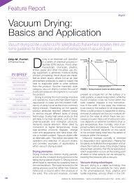 pdf vacuum drying basics and application