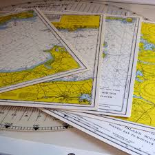 Waterproof Nautical Maps Of Long Island Sound And Course