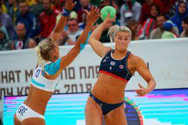beach handball team fined for ...