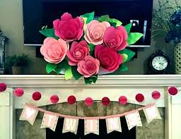 Paper Flower Template Free Free Rose Paper Flower Template Designtruck Co