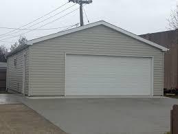 detached garage 2 1 2 car