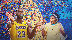 Lakers star LeBron James reacts ...