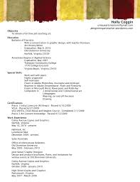 Resume A Beginning Art Teacher S Blog