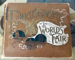 1894 world fair photograph book worlds