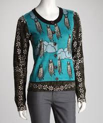 Knitted Dove Knitted Dove Oregano Wise Owl Cardigan
