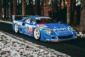 Benuzzi reports that the f40 was always intended to be a racing car. Why This Ferrari F40 Lm Is Worth Every Penny Of Its 6 Million Price Tag Carbuzz