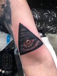 Michaelhockmaneye Eye Of God Hammer Of Witches Eye Triangle Color