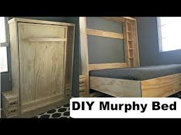 diy murphy bed ideas. DIY Murphy Bed Without Expensive Hardware! - YouTube Diy Ideas