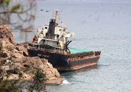 Thanh thải, bán phế liệu 2 tàu nước ngoài bị đắm ở biển Quy Nhơn | Báo Dân  trí