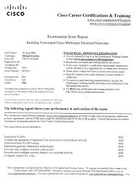 Cisco Certified Network Engineer Sample Resume 8 Test 20 Cover
