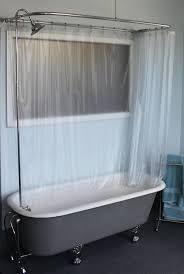 garden tub curtain ideas. cool clawfoot tub shower curtain rod 33 antique tubs garden ideas