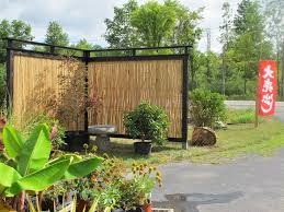 Exterior:Modern Design Bamboo Privacy Fence Ideas Cool Fence Design Ideas  to Make Your Home