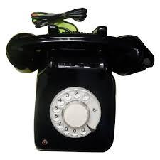 bakelite retro rotary dial telephone