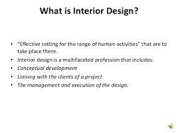 Introduction To Interior Design Stunning Define Interior Design