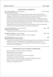Teacher Sample Resume Elementary Resume Sample Directory