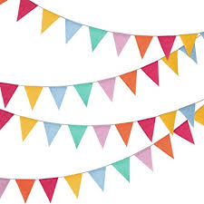 Triangle Banner 24 Pieces Multicolored Triangle Flags 15 7 Feet Bunting Banner For Party Decoration