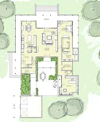 courtyard modern house plans cool design 9 walled courtyard house plans best ideas about on modern