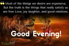 Good Evening Messages Quotes Images For Friends With Lovely Wishes