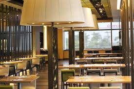cafe lighting design. Cafe Restaurant Bar Space Indoor Lamp Room Lighting Interior Design Cafeteria Tables And Chairs