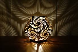 Shadow Lamps Cozo Sacred Geometry Lights And Sculptures
