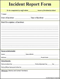 Case File Template For Management Police Folder Kensee Co
