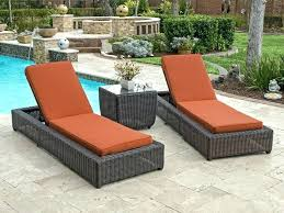 double chaise lounge outdoor furniture replacement cushions