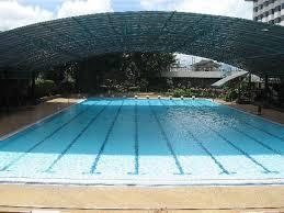 olympic size swimming pool. Horison Ultima Bandung: The Olympic-size Swimming Pool At Olympic Size G