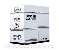 <b>Кабель сетевой</b>, <b>RIPO</b>, UCCP-5124, <b>UTP</b> Cat.5e 4x2x7/0,12 PVC ...