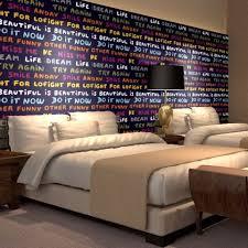 room bedroom decor english letter word