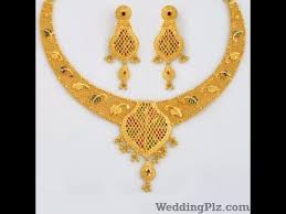 20 gram gold necklace set with
