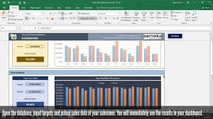 Salesman Tracking Forms Salesman Performance Tracking Excel Spreadsheet Template