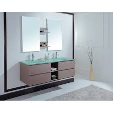 avaya  inch modern double sink bathroom vanity unique grey oak