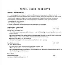 Sales Associate Resume Sample Sales Associate Resume 8 Free Documents In Pdf Doc