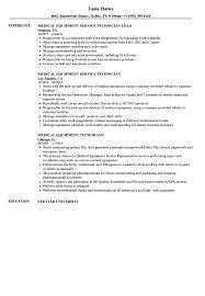 Medical Equipment Technician Medical Equipment Technician Resume Samples Velvet Jobs